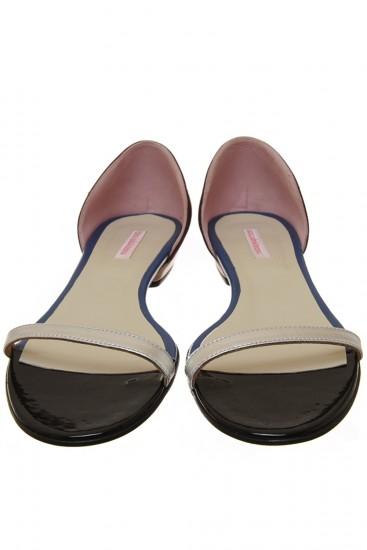 """Sandale piele """"Silver"""""""