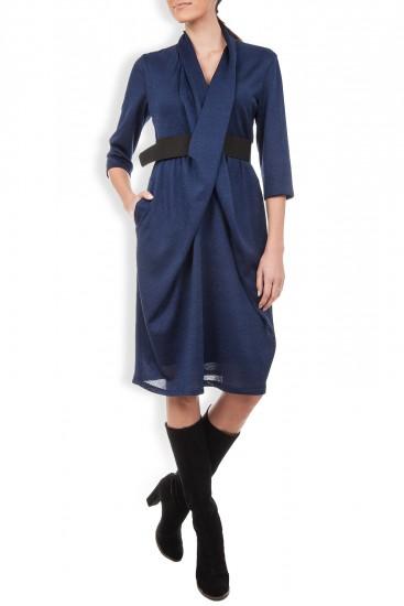 Rochie midi albastra
