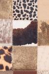 Geanta plic patchwork Wild