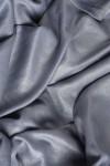 Rochie lunga de seara din voal gri