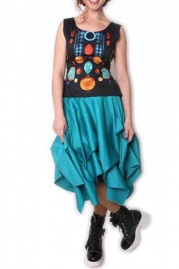 Bluza bumbac satinat Cosmic game