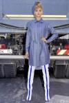 Rochie camasa denim bleu Eon