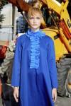 Rochie larga albastra cu jabou Rey