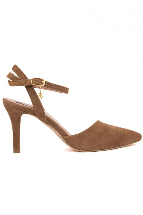 Pantofi stiletto maro Daily Show