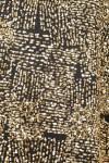 Rochie mini paiete aurii