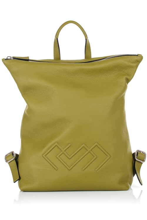 Rucsac piele olive Darcy