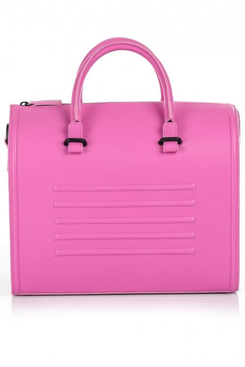 Geana office piele roz Laihla