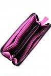 Portofel piele roz Irene