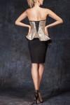 Rochie conica corset paiete