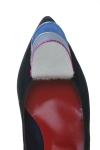 Pantofi piele intoarsa cu varf ascutit