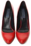 Pantofi stiletto piele rosie