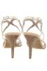 Sandale piele naturala aurie si nude