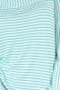 Bluza dungi verzi cu maneci clopot