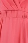 Rochie roz cu bretele