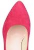 Pantofi cu toc piele roz Nicole