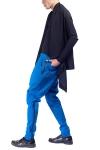 Pantaloni doc albastru