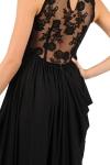 Rochie de seara cu dantela neagra