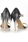 Sandale piele Black Wings