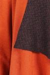 Cardigan caramiziu din lana