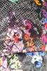 Rochie matase cu print floral