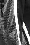 Bluza neagra decupaje geometrice