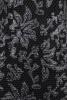 Rochie neagra cambrata cu aplicatii florale