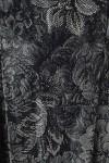 Compleu cu fusta tafta neagra si fota matase naturala
