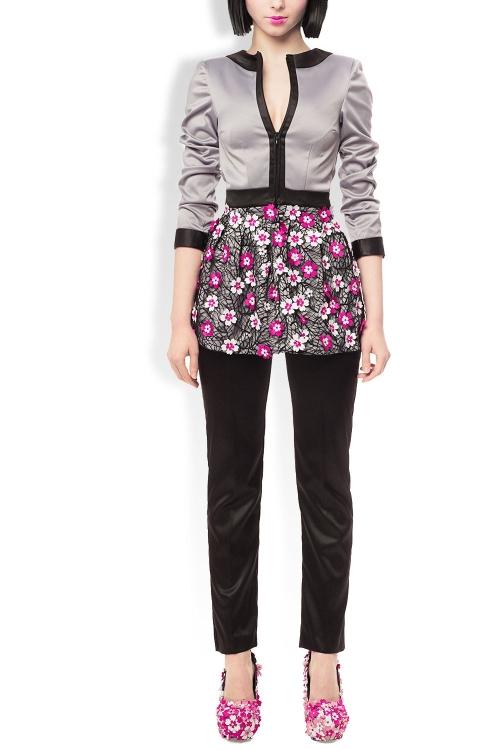 Deux-piece pantaloni si sacou Sakura Love