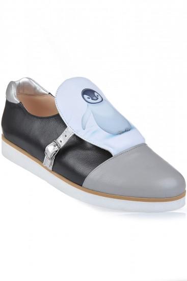 "Sneakers piele naturala ""Baby Penguin"""