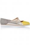 "Pantofi sport piele naturala ""Golden triangle"""
